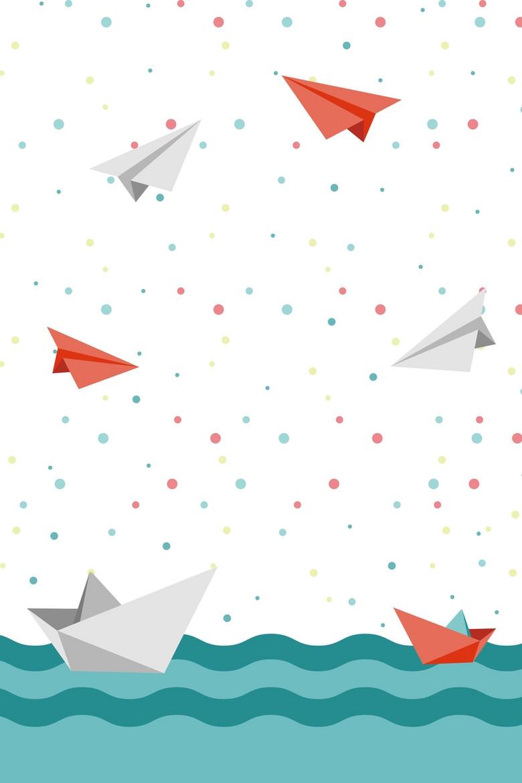 创意简约斑点儿童节海报背景素材