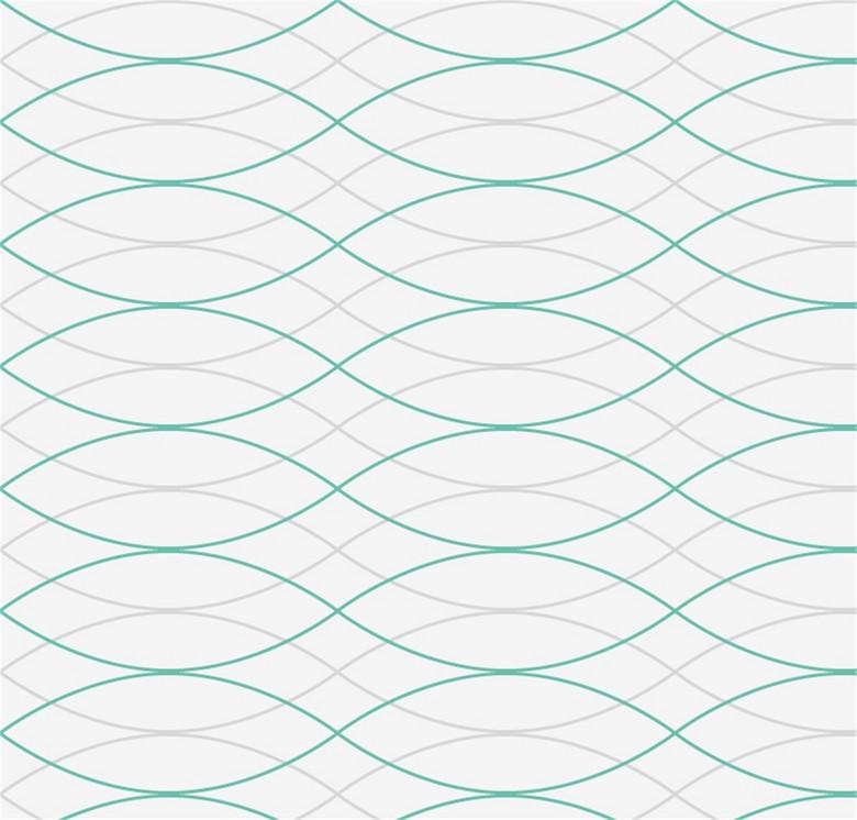 彩色波浪线背景图