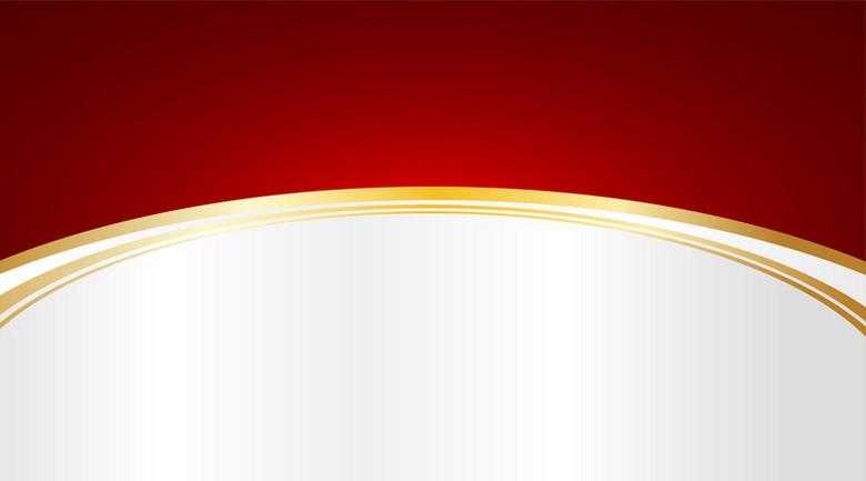 金色条纹红白拼接背景素材