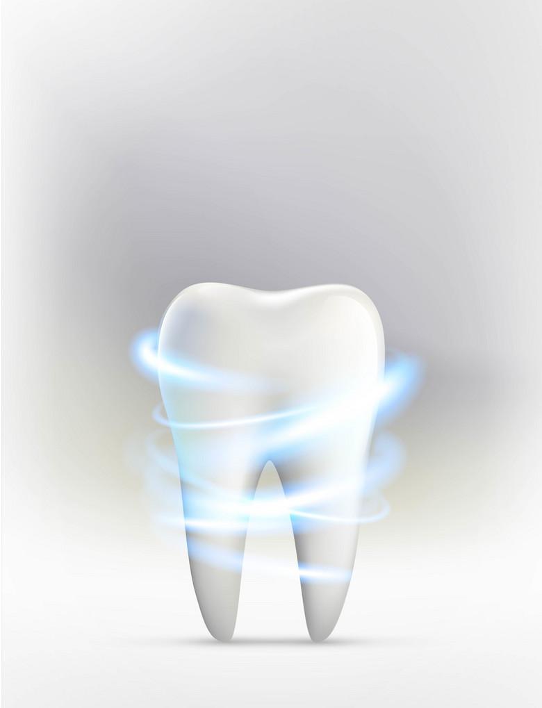 牙齿医疗健康背景素材