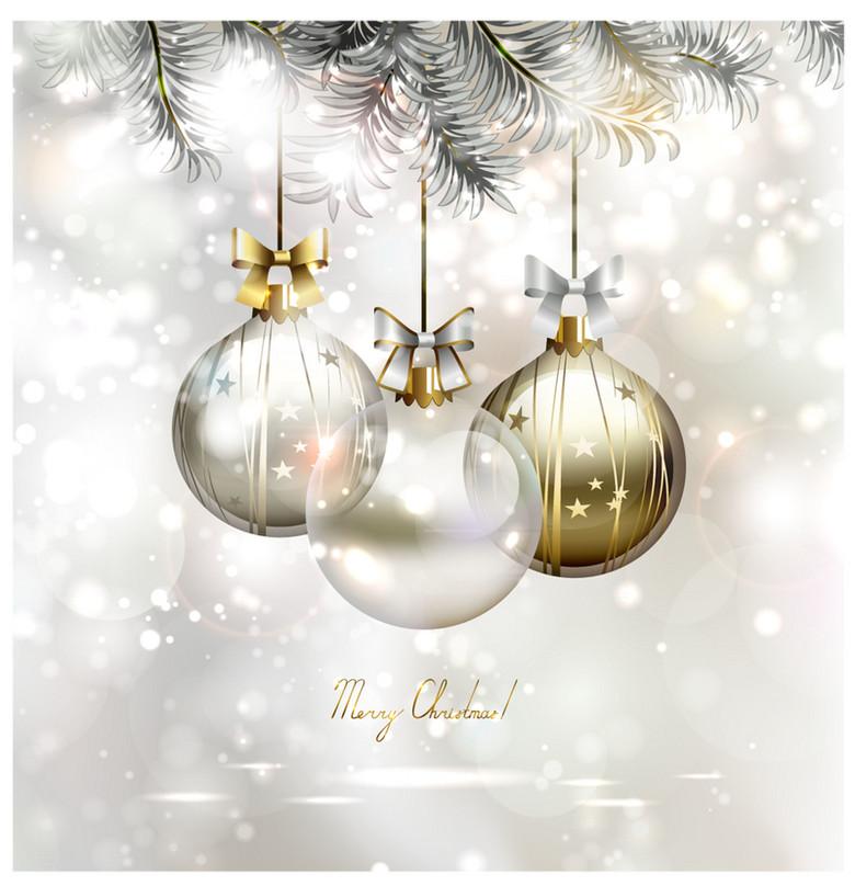 圣诞节背景素材海报