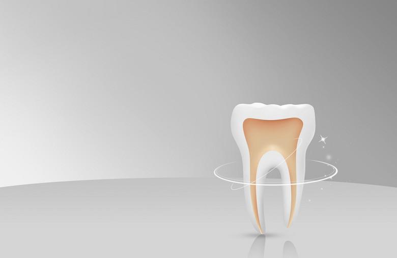 牙齿海报背景素材
