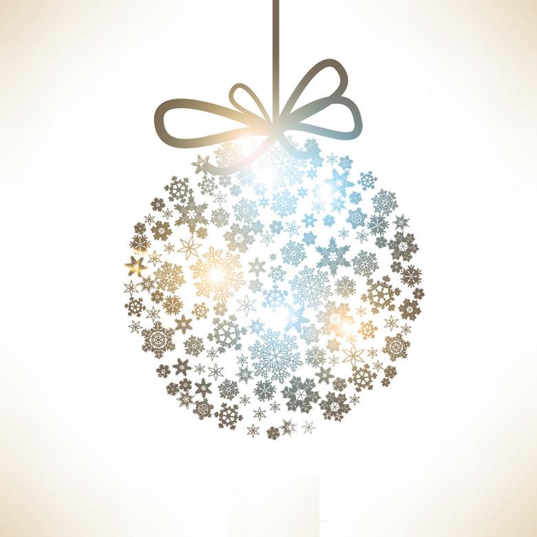 圣诞节铃铛背景素材