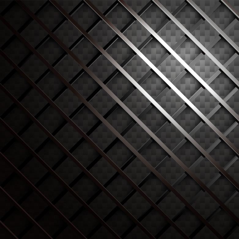 黑色渐变编织背景