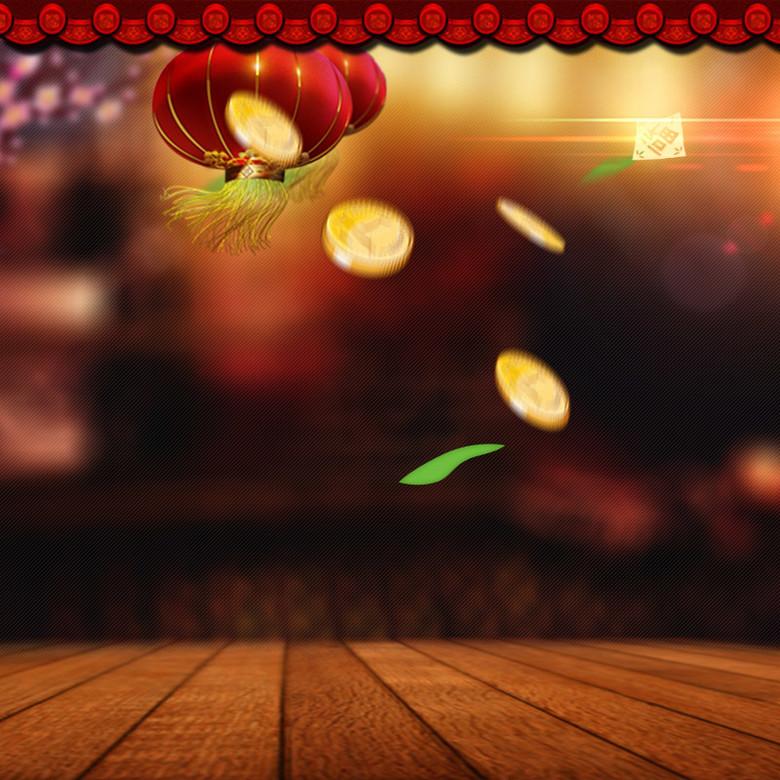 中国风食品促销素材主图