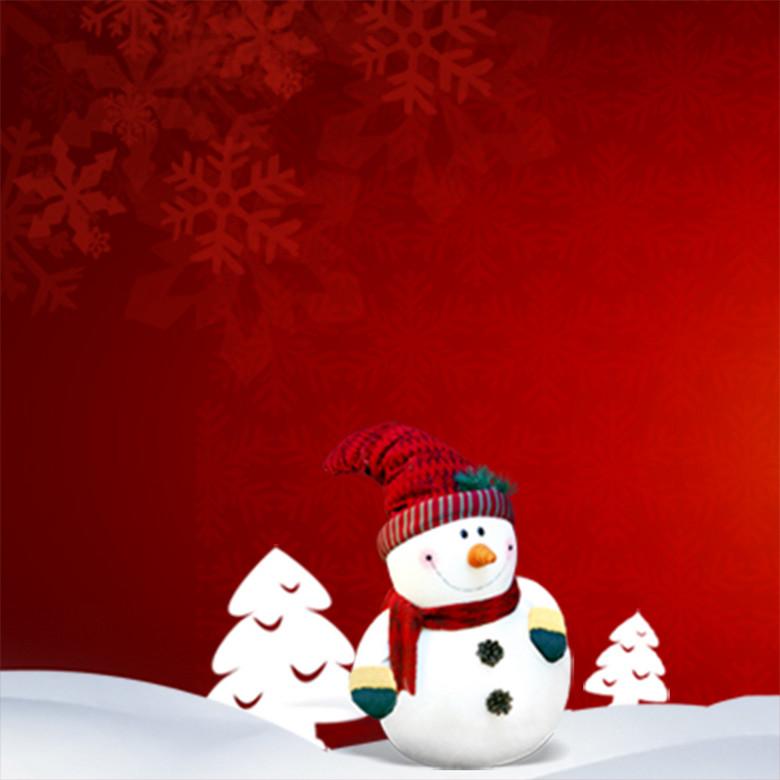 圣诞背景主图