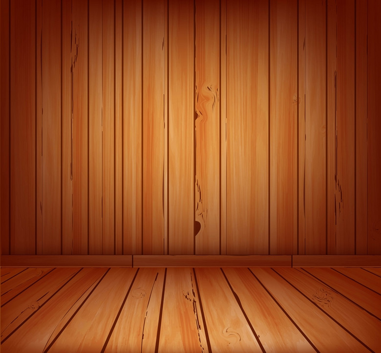 立体木板背景
