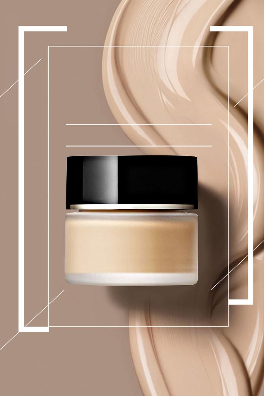 时尚简约防晒隔离化妆品海报背景